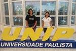 Aluna da Universidad Siglo 21 relata sobre intercâmbio no campus Paraíso